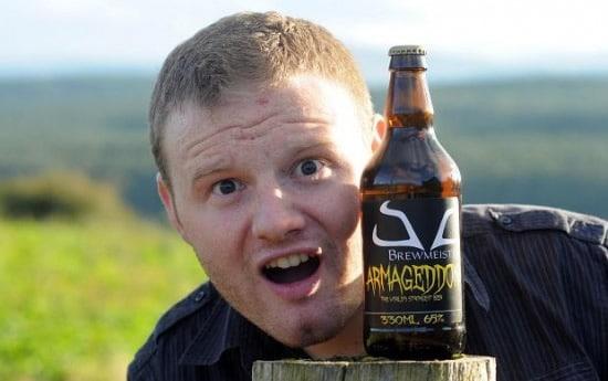 Criador da cerveja Armageddon