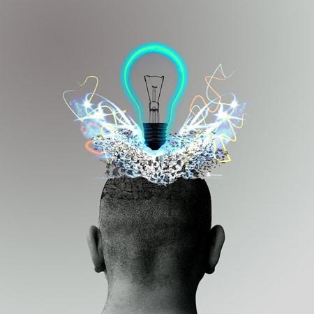 cabeça explodindo em idéias