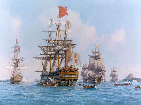 Abertura dos portos