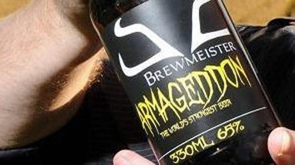 Garrafa da cerveja Armageddon