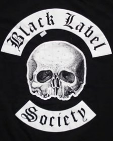Camiseta da banda Black Label Society