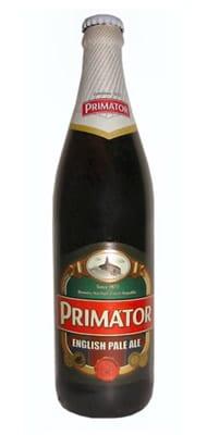 Garrafa da cerveja Primator