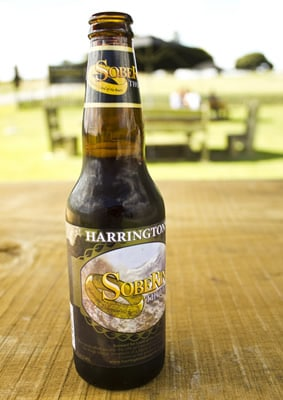 Garrafa de cerveja do Senhor dos Anéis