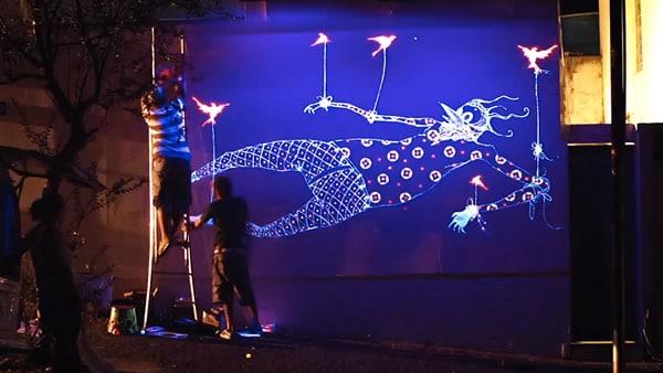 Grafites do Criaturas da Noite da Smirnoff