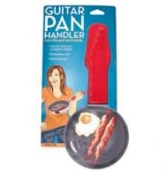 Frigideira no formato de guitarra