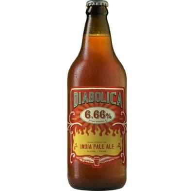 Garrafa da cerveja Diabolica