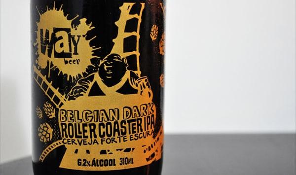 Garrafa da cerveja Way Rollercoaster