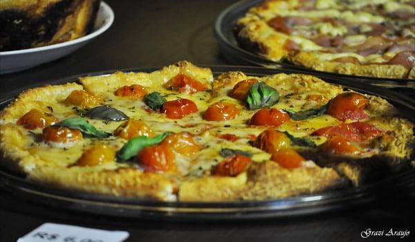 Pizza no evento Procerva