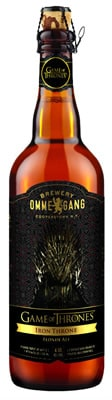 Garrafa da cerveja do The Games of Thrones