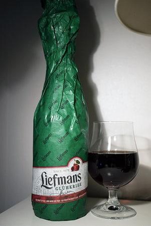 Garrafa da cerveja Liefmans