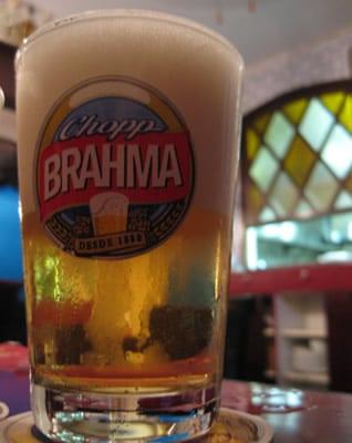 Caldereta de chopp Brahma