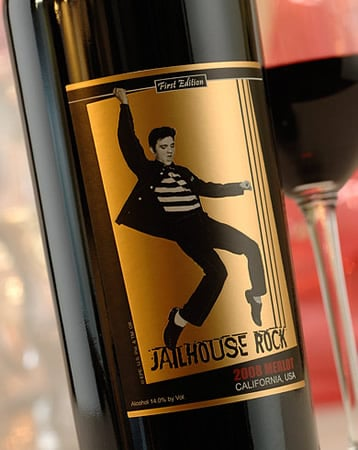 Vinho do Elvis Presley