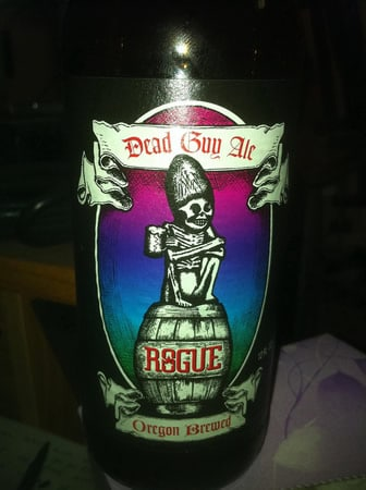 Garrafa da cerveja Rogue