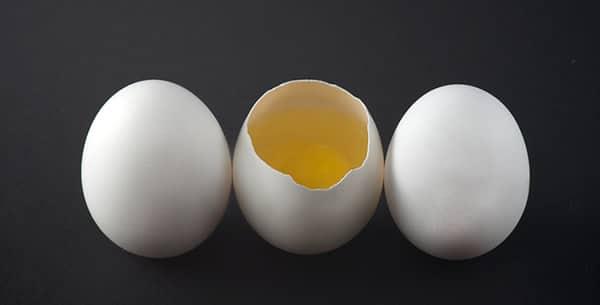 Ovos quebrados