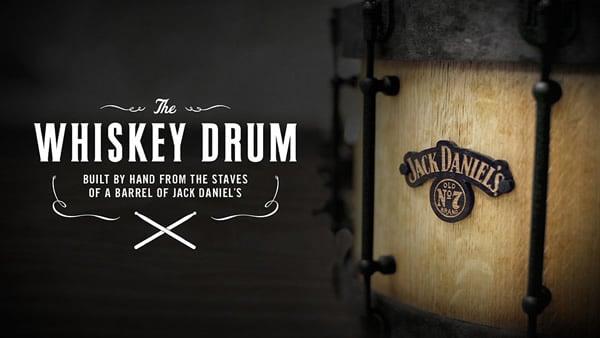 Tambor do Jack Daniel's