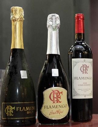 Os três vinhos do Flamengo