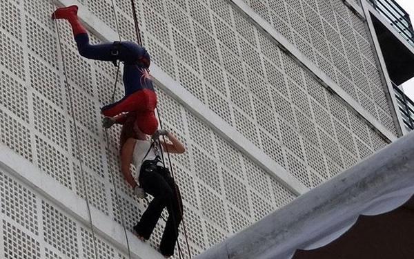 Homem aranha no carnaval de Olinda
