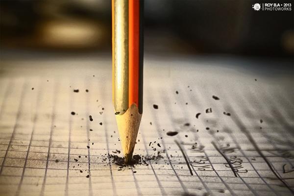 Gastando o lápis em cálculos matemáticos