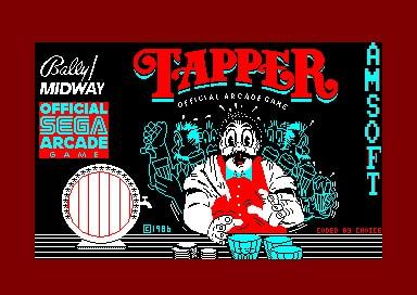 Tela do jogo Tapper