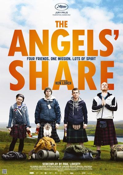 Cartaz do filme A Parte dos Anjos