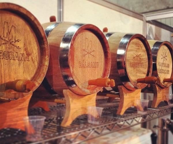 Cervejas da Coruja em barril
