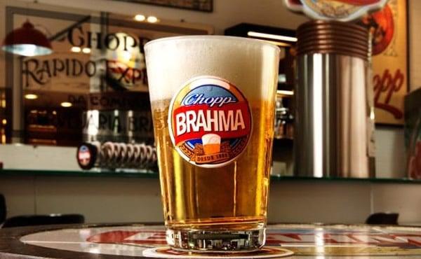 Caldereta de chopp da Brahma