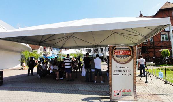 Entrada do Festival da Cerveja em Blumenau
