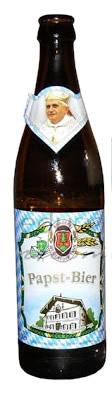Garrafa da cerveja Papst Bier
