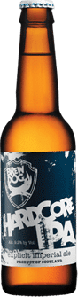 Garrafa da cerveja Hardcore IPA
