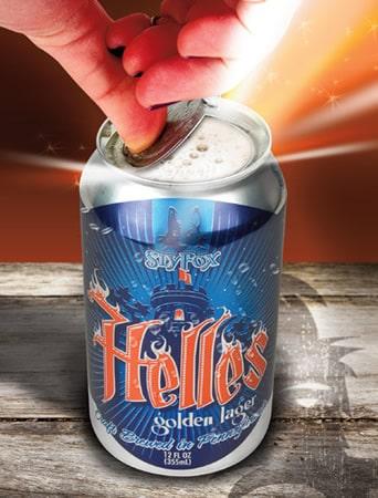 Lata da cerveja Helles Lidless