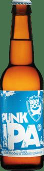 Garrafa da cerveja Punk IPA