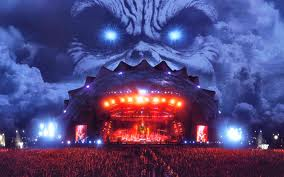 Palco do Iron Maiden no Rock in Rio