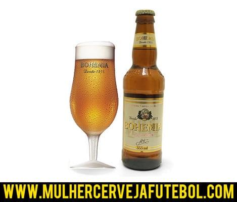 Taça da cerveja Bohemia