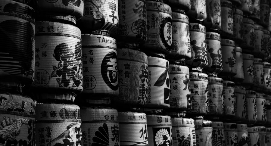 Barris de Sake