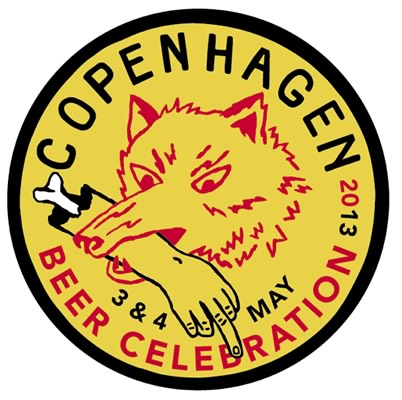 Logo da Copenhagen Beer Celebration 2013