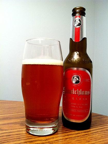 Garrafa da cerveja Samichlaus Helles