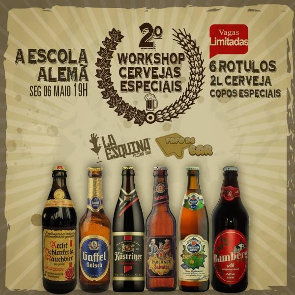 Imagem do Workshop das Escolas Cervejeiras