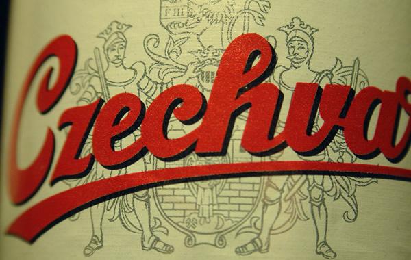 Rótulo da cerveja Czechvar