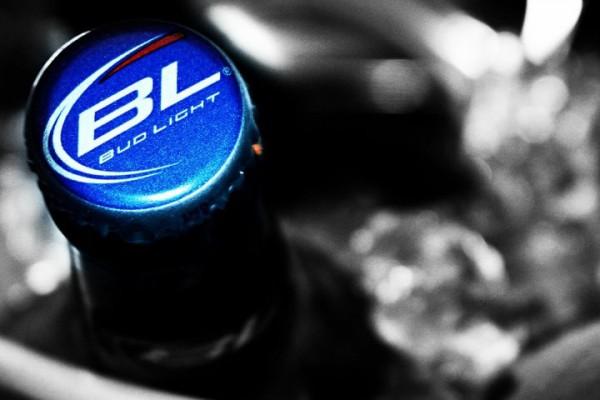 Tampa da cerveja sem álcool Bud Light