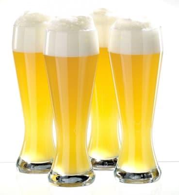 Copos de cerveja do estilo Weizenglaeser