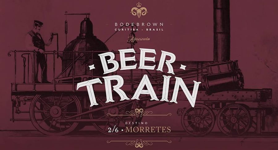 Beer Train no 8º encontro nacional das AcervAs