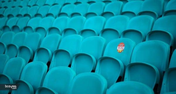 Cadeiras do Estádio da Itaipava