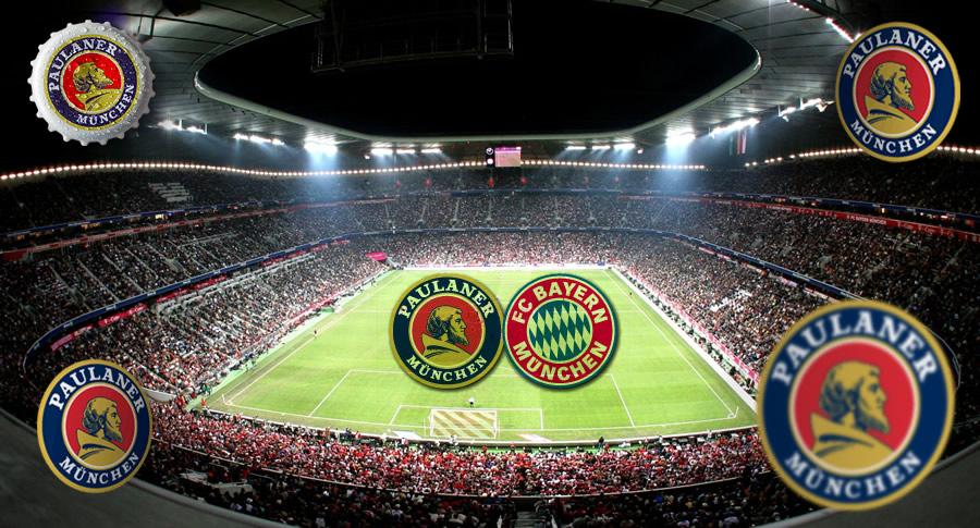 Estádio do Bayern München e Paulaner