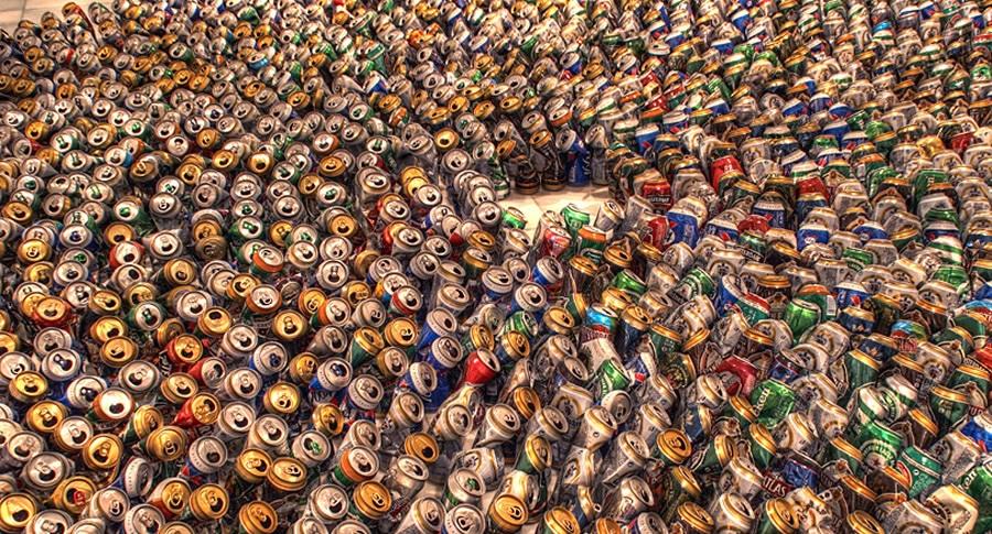 A cerveja está em tudo