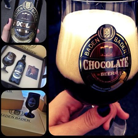 Mosaico da cerveja Baden Baden Chocolate Beer