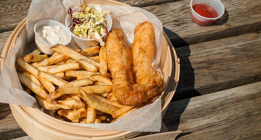 Porção de Fish and Chips