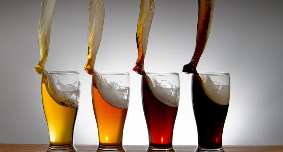 Tulipas de cerveja