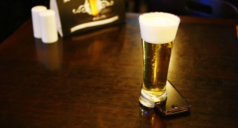 Copo Offline do bar Salve Jorge