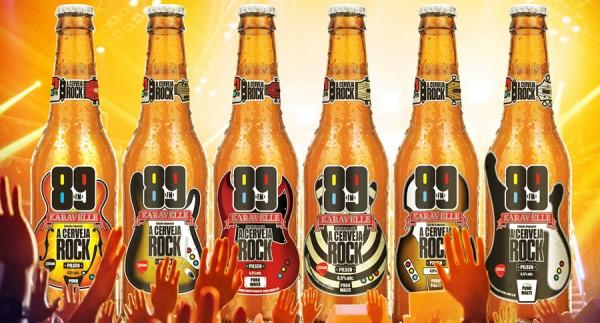 Karavelle, cerveja da rádio Rock 89fm