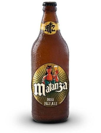 Garrafa da cerveja Matanza IPA